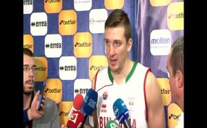 Димитър Димитров: Мисля, че бяхме малко прегорели