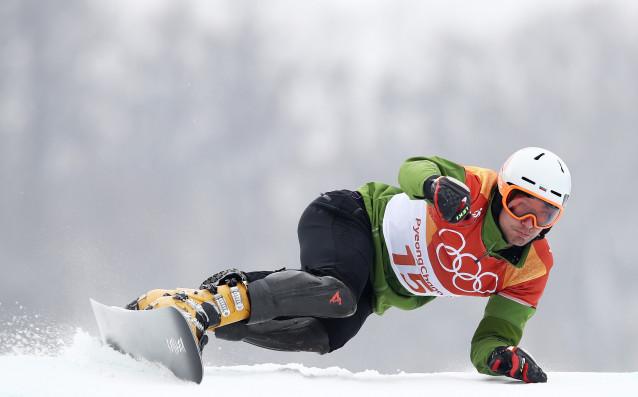 Българският представител в дисциплината паралелен слалом в сноуборда Радослав Янков