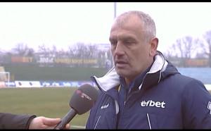 Треньорът на Верея: Футболът трябва да е справедлив и да се решава на терена