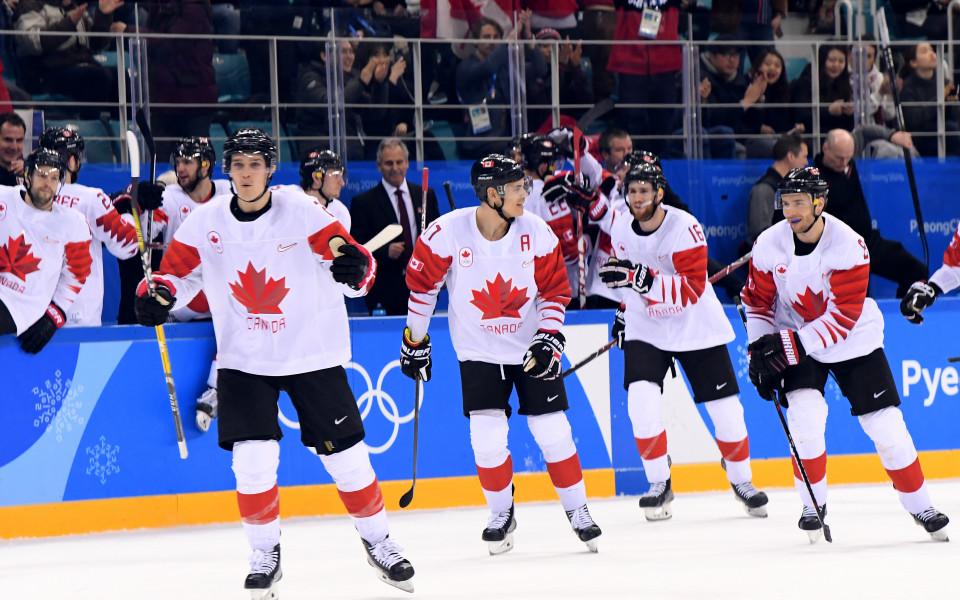Изненадваща загуба на Канада на Световното по хокей