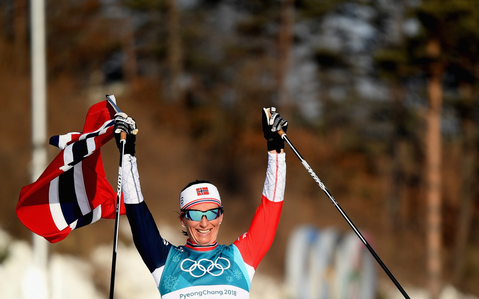 Марит Бьорген втора в последния си старт в кариерата