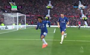 Манчестър Юнайтед - Челси 1:1 /първо полувреме/