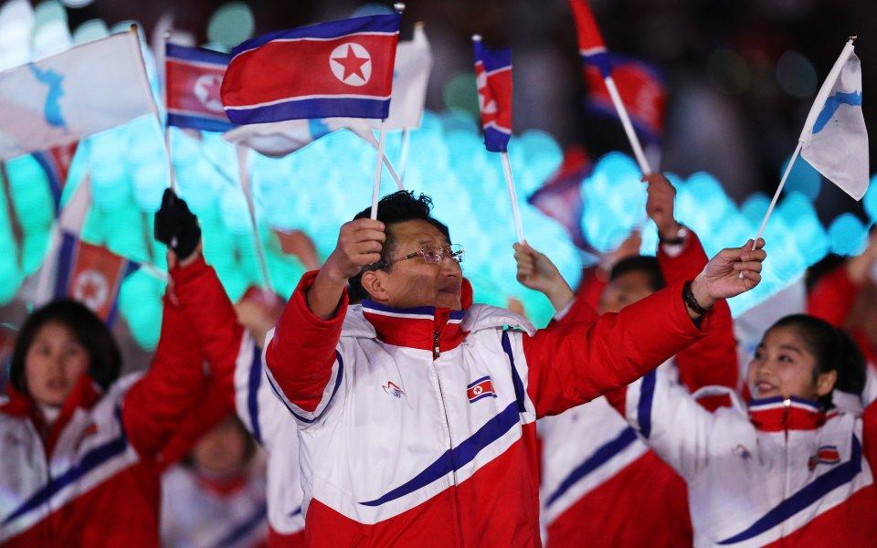 Лидерът на Северна Корея: Затоплянето на отношенията с Южна Корея се дължи на МОК