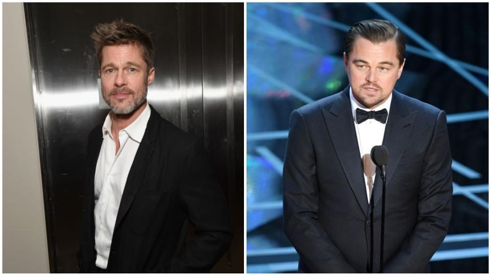 Брад Пит и Леонардо ди Каприо ще се снимат заедно във филм
