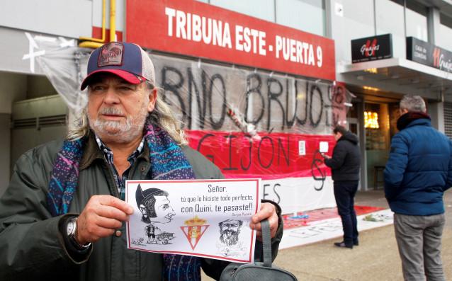 Легендата на испанския футбол Енрике Кастро – Ники бе изпратен