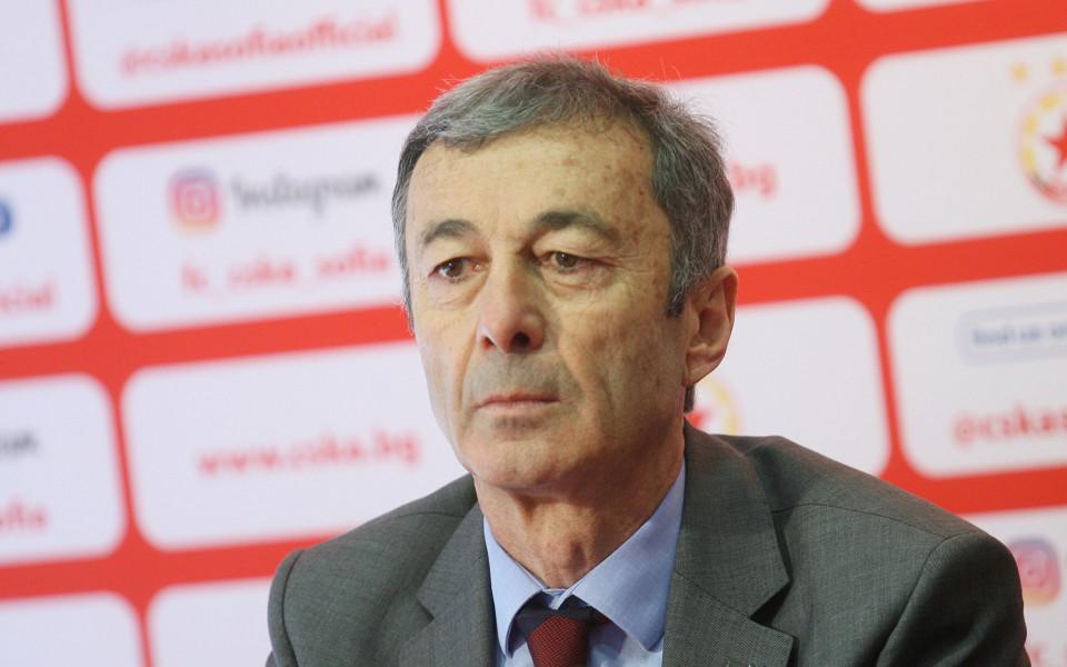 Пламен Марков: ЦСКА не иска помощ от държавата за стадиона