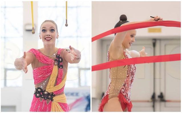 Анна Келман и Татяна Воложанина<strong> източник: facebook.com/BGRGfederation, колаж: Gong.bg</strong>