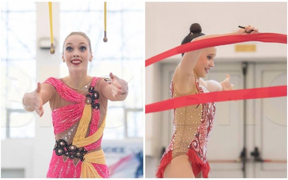 Келман и Воложанина носят четири медала от четири финала