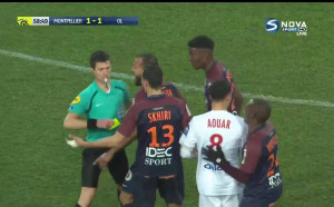 Монпелие и Лион разделиха по точка в Лига 1