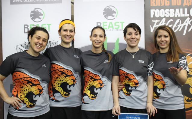 Женският отбор на най-големия клуб по джаги в страната –