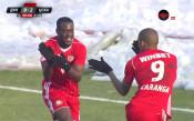Дебютният гол на Джеси за ЦСКА реши всичко в Русе
