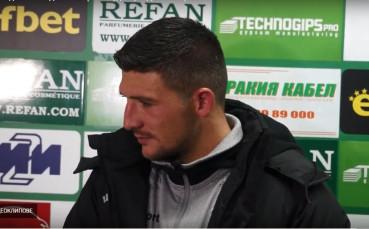 Берое официално обяви продажбата на Камен Хаджиев