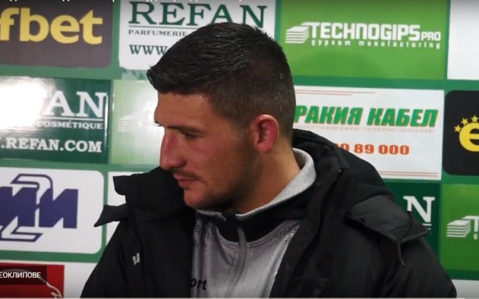Камен Хаджиев със силен мач за Академия Пушкаш в българско дерби