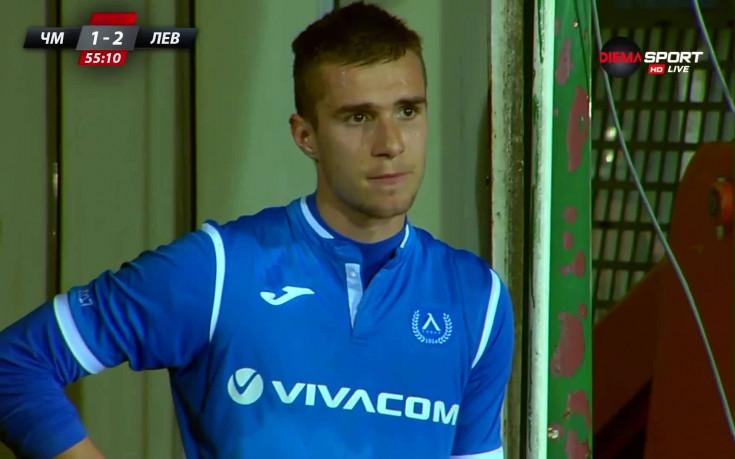 Антонио Вутов изгоря за три мача, пропуска и ЦСКА