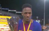 Барселона измъкна първи трофей за сезона след дузпи