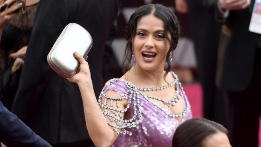 """Салма Хайек за """"Оскар""""-ите: Най-много ми хареса масажът на мъжа ми"""