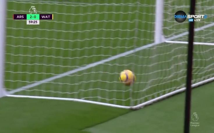 Арсенал - Уотфорд 3:0 /репортаж/