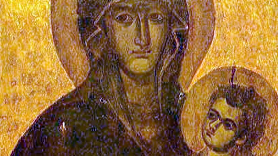 Нарисувана през V или VI в., прерисувана през XIII в.
