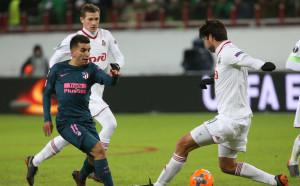 Атлетико Мадрид танцува и не замръзна в Москва
