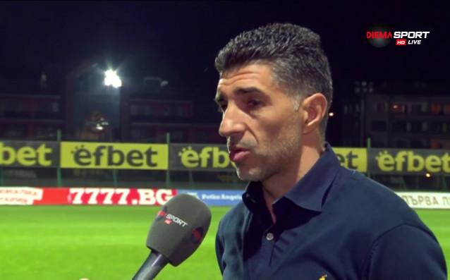 Наставникът на Дунав Малин Орачев разкритикува играчите си за поражението