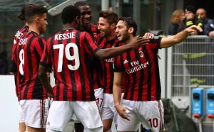 Милан продължава да лети, макар да се измъчи много с Киево