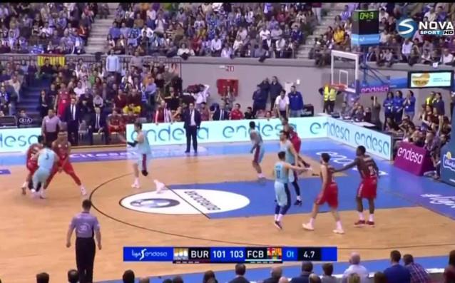 Отборът на Барселона без българина Александър Везенков, който се възстановява
