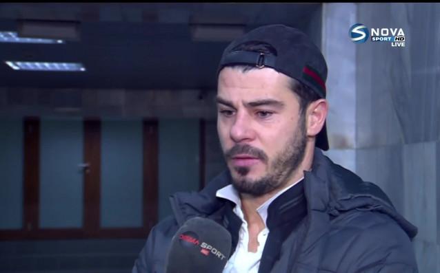 Лидерът на Славия Галин Иванов стана Играч на мача срещу