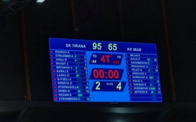 Служебна загуба бе наложена на черногорскияИбър Рожаеот Балканската лига по