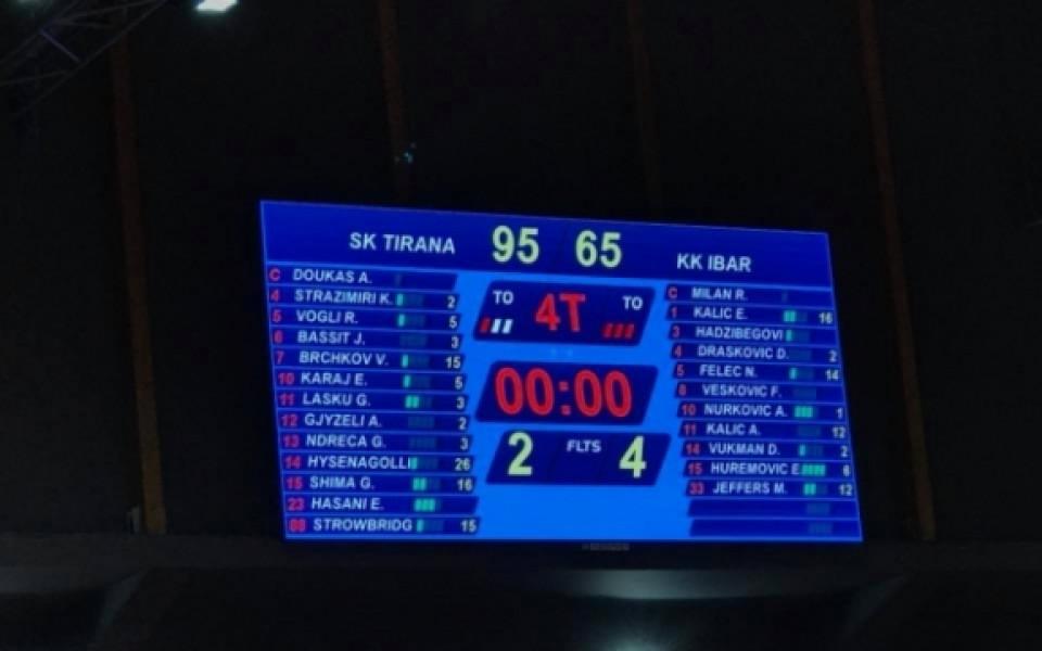 Служебна загуба за черногорци в Балканската лига