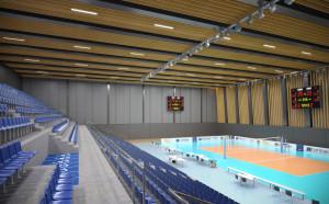 Строежът на новата зала на ВК Левски започва след месец