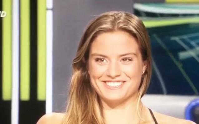 22-годишната гъркиня Мария Сакари се нарежда сред най-хубавите тенисистки в