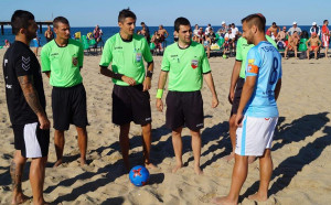 Българския съдия получи наряд за Шампионската лига по плажен футбол