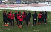 ЦСКА се подготвя в Албена за сблъсъка с Лудогорец
