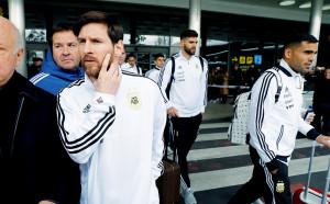 Меси не тренира, остана в хотела в Мадрид