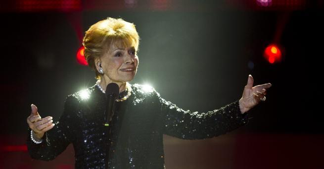 """Почина първата победителка в конкурса """"Евровизия"""" през 1956 г. Швейцарската"""