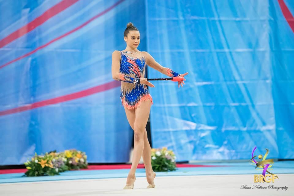 Петя Борисова<strong> източник: facebook.com/BGRGfederation/</strong>