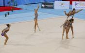Ансамбълът на България по художествена гимнастика<strong> източник: LAP.bg</strong>