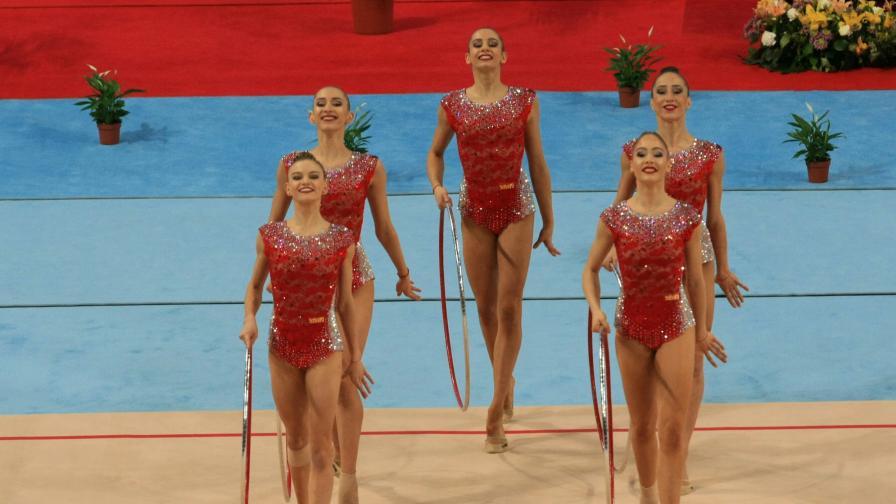 Българските гимнастички с ново злато и 6 медала
