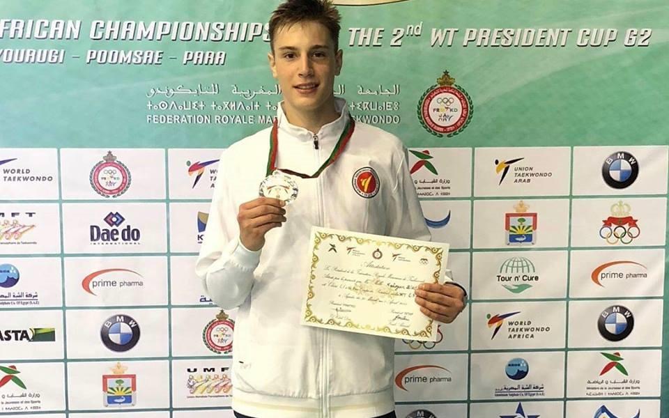 Калоян Бинев – първият българин с медал от световното издание на