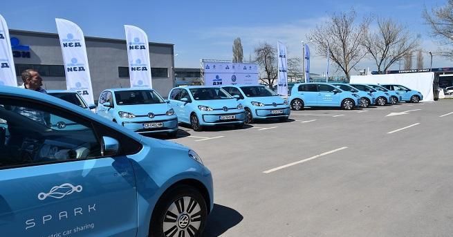 В София вече има 60 електромобила в car sharing услугата