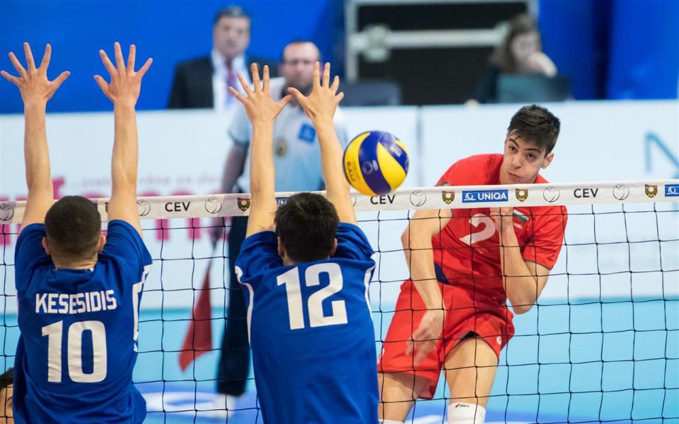 Волейболните национали до 18 г. спечелиха втора победа на Евро 2018