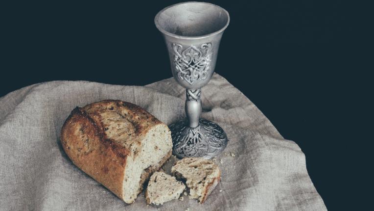 хляб чаша