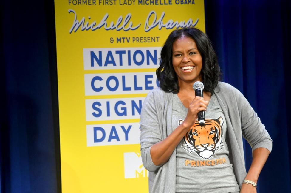 - Мишел Обама е една от най-обичаните Първи дами на Щатите. Тя ще остане в историята с много свои инициативи, сред които беше и зеленчуковата градина...