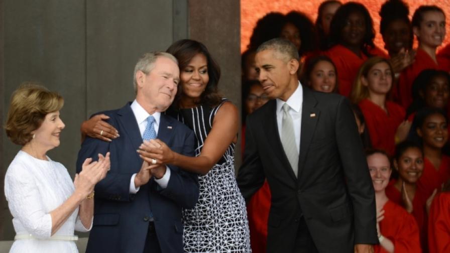 Семейство Буш и семейство Обама