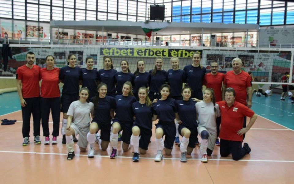 В София започва Европейското по волейбол за девойки