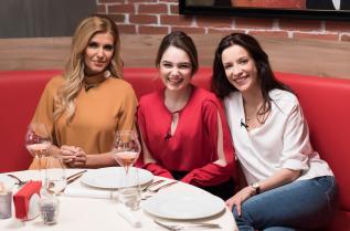 """Радина Боршош с актрисата Яна Маринова и певицата Анелия на гости в """"Адската кухня"""""""