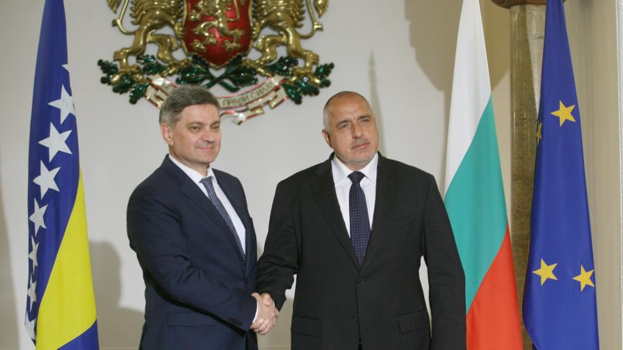 Денис Звиздич и Бойко Борисов