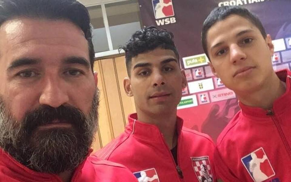 Банабаков и Иванов боксират за хърватския тим в WSB