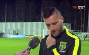 Старокин: Аз играх с топката при първия гол на Славия