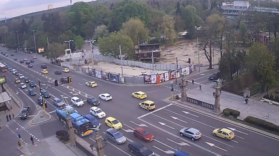 "Ранена полицайка на мача ЦСКА - ""Левски"""